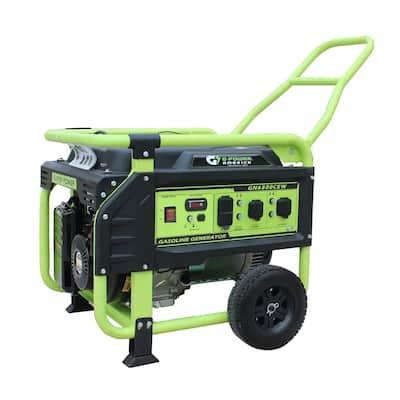 Atlas 6500-Watt/5300-Watt Recoil Start Gasoline Powered Portable Generator with 306 cc 11HP LCT Engine