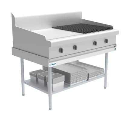 48 in. Stainless Steel Commercial Kitchen Utility Table With Undershelf