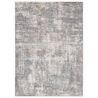 Austin Elegance Grey 9 ft. 10 in. x 13 ft. 2 in. Oversize Area Rug