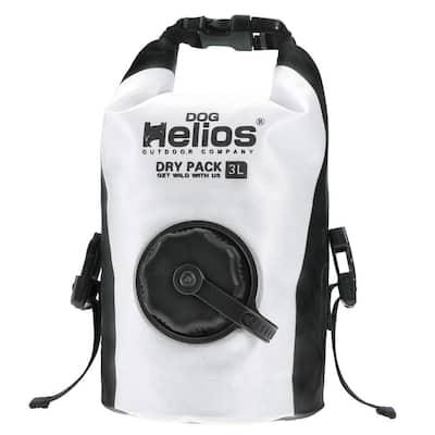 3 l White Grazer Waterproof Outdoor Travel Dry Food Dispenser Bag