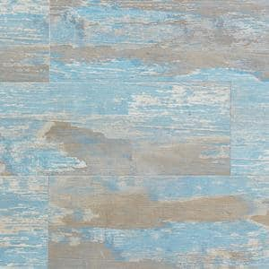 Element Wood 1/4 in. x 6 in. x 48 in. Blue Shiplap Resin Wall Panels (18-Pack)