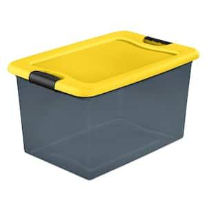 64Qt. Latching Box in Gray Tint