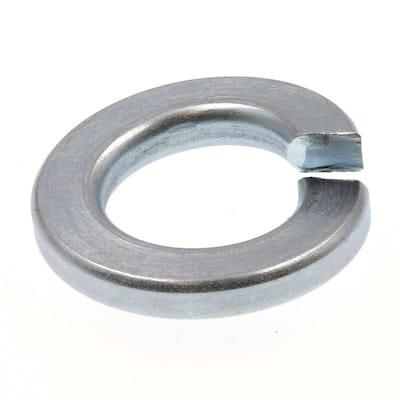 3/8 in. Zinc Plated Steel Medium Split Lock Washers (100-Pack)