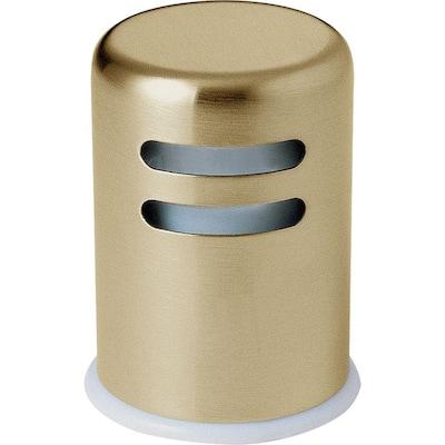 Kitchen Air Gap in Champagne Bronze