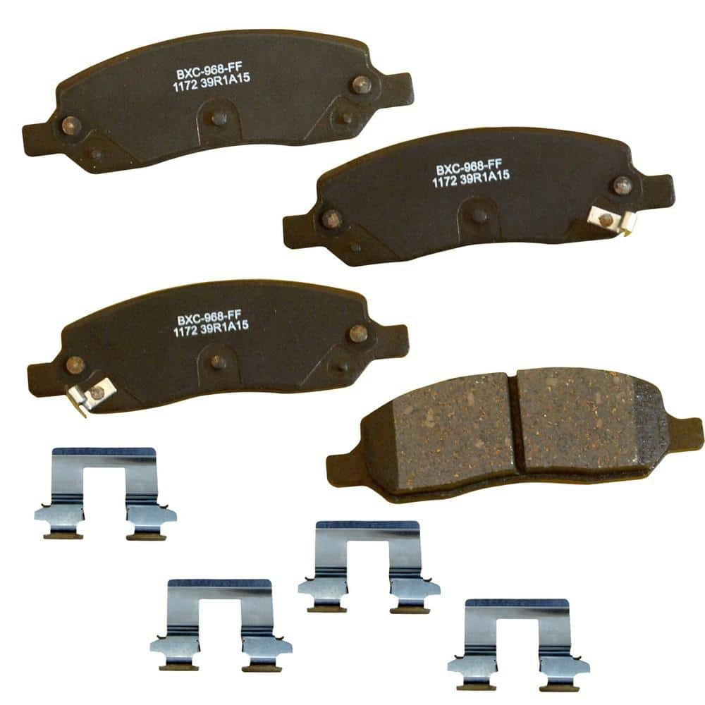 Stop By Bendix Disc Brake Pad Set 2005 2006 Toyota Tundra Sbc1172 The Home Depot