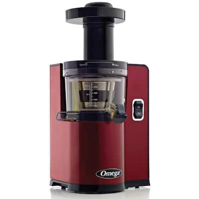 Vertical Slow Speed Masticating Red Juicer