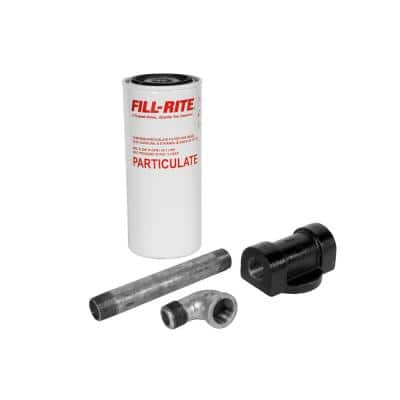 3/4 in. NPT Inlet and Outlet 18 GPM (68 LPM) Utility Accessory 10 Micron Particulate Filter Kit
