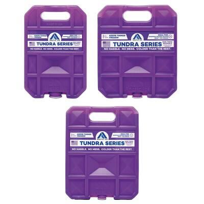Tundra 1.5 lbs., 2.5 lbs. and 5 lbs. Freezer Packs
