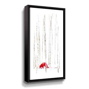 'There's nowhere to run' by  Robert Farkas Framed Canvas Wall Art