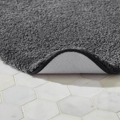 Plush Nylon Non-Skid Bath Rug