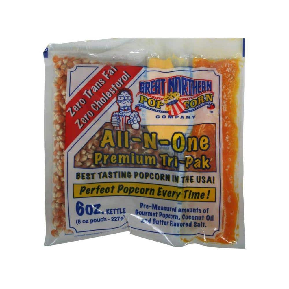 Great Northern 6 Oz All In One Popcorn Pack Of 24 Hwd630178 The Home Depot