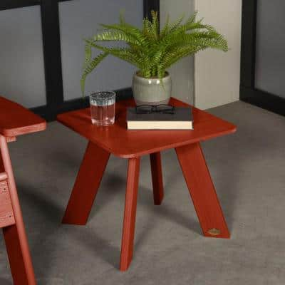 Italica Modern Outdoor Plastic Side Table