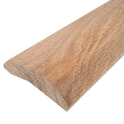 Hardwood 2 in. x 72 in. Carpet Trim Transition Strip