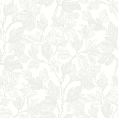 Fig Ivory Botanical Ivory Wallpaper Sample