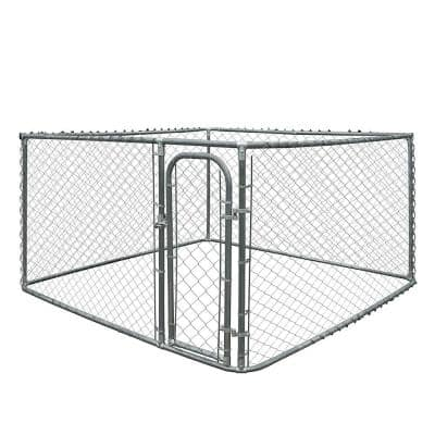 6 ft. H x 7.5 ft. W x 7.5 ft. L Dog Kennel