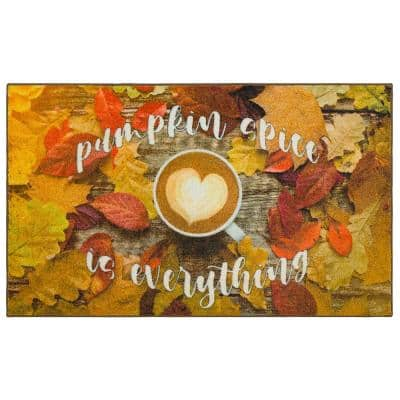 PUMPKIN SPICE MULTI 1 ft. 6 in. x 2 ft. 6 in. Scatter Area Rug