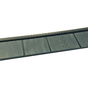 6-1/2 in. x 60-1/2 in. Lakeside Blue Engineered Rigid PVC Shingle Panel 5 in. Exposure (24 per Box)
