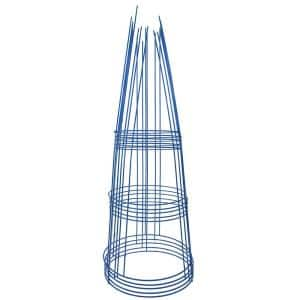 42 in. Heavy-Duty Blue Tomato Cage (5-Pack)