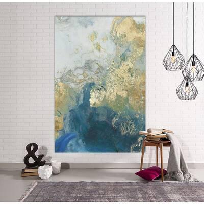 """48 in. x 72 in. """"Ocean Splash II"""" by PI Studio Wall Art"""