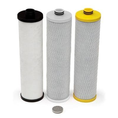 Replacement Filters for 3-Stage Max Flow Under Counter Water Filtration Systems