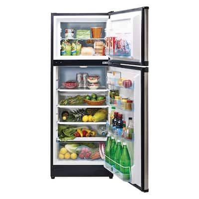 10.3 cu. ft. 290 l Solar DC Top Freezer Refrigerator Danfoss/Secop Compressor in Stainless Steel