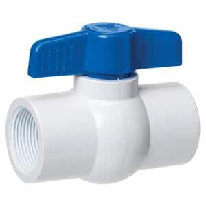 1/2 in. x 1/2 in. PVC Schedule 40 FIP x FIP Ball Valve (18-Pack)