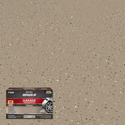 180 oz. Mocha Polycuramine 2.5 Car Garage Floor Kit
