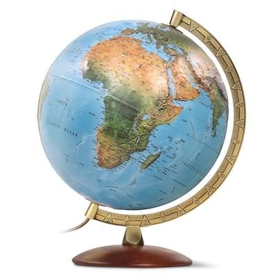 Primus 12 in. Raised Relief Desktop Globe