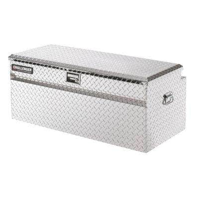 Lund 44.75-inch Diamond Plate Aluminum Full Size Chest Truck Tool Box, Silver