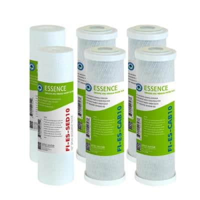 Essence 10 in. Standard Capacity First 3-Stage RO Replacement Filter (Bundle of 2 Pre-Filter Set)
