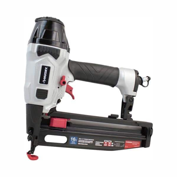 Husky Pneumatic 16-Gauge 2-1/2 in. Straight Finish Nailer | The Home Depot