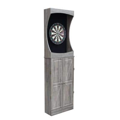 Westwood Free Standing Dart Board and Cabinet Set