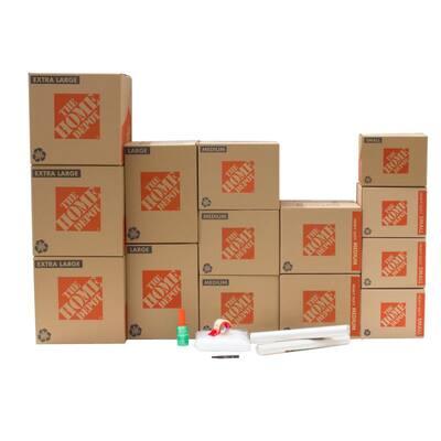 14-Box Garage Moving Box Kit