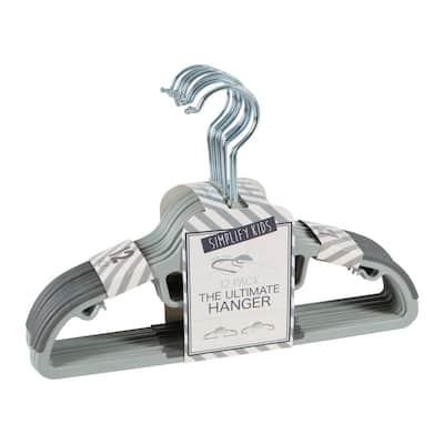 Gray Hangers 12-Pack