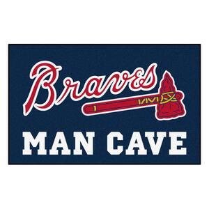 MLB - Atlanta Braves Man Cave UltiMat 5 ft. x 8 ft. Indoor Area Rug