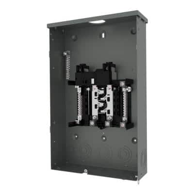 PN Series 200 Amp 8-Space 16-Circuit Main Breaker Plug-On Neutral Trailer Panel Outdoor with Copper Bus