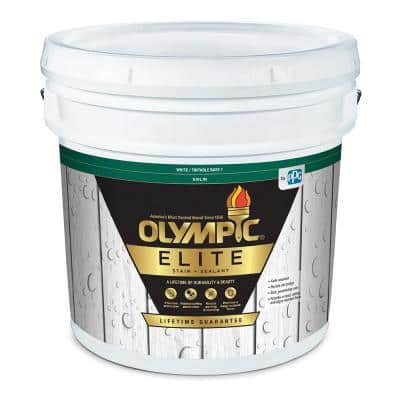 Elite 3 gal. Base 1 Solid Advanced Exterior Stain and Sealant in One