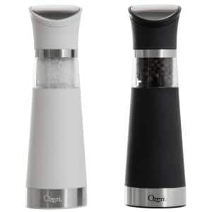 Graviti Pro Electric Salt and Pepper Grinder Set, BPA-Free