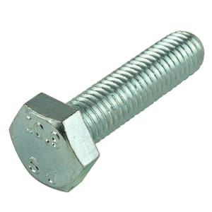 M8-1.25 x 35 mm Class 10.9 Zinc Plated Hex Bolt (2-Pack)