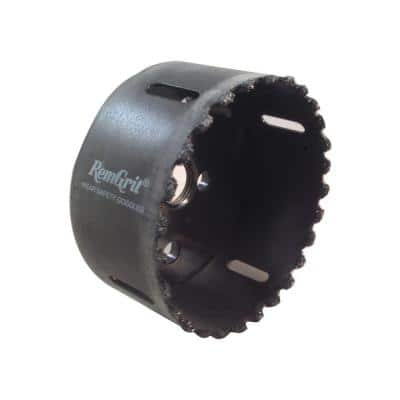 3-1/4 in. Diameter Carbide Grit Hole Saw