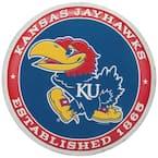 KU Jayhawks Established Embossed Tin Button