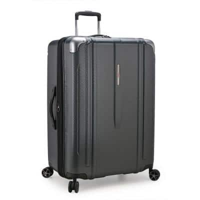 New London II 29 in. Gray Hardside Expandable Spinner Luggage