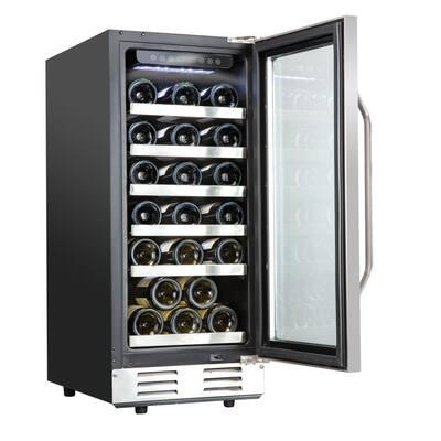 15 in. 31-Bottle Compressor Built-in Wine and Beverage Cooler