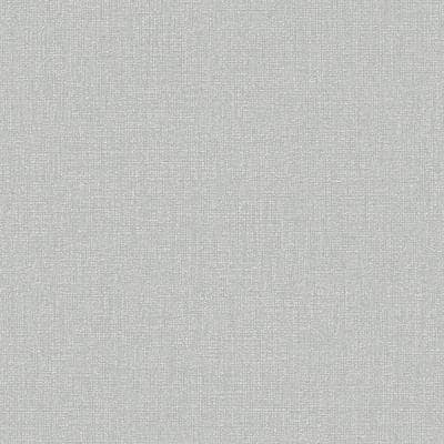 Gray & Silver Vinyl Non-Pasted Moisture Resistant Wallpaper Roll (Covers 56 Sq. Ft.)