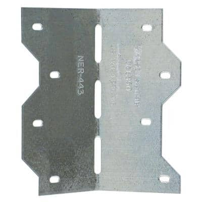 LS 4-7/8 in. 18-Gauge Galvanized Adjustable L Angle