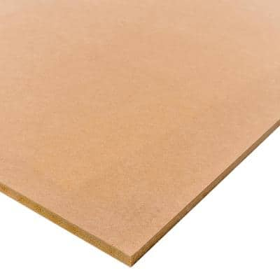Medium Density Fiberboard (Common: 1/2 in. x 2 ft. x 4 ft.; Actual: 0.483 in. x 23.75 in. x 47.75 in.)