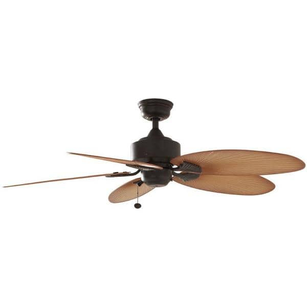 Hampton Bay Lillycrest 52 In Indoor, Home Depot Outdoor Fans Without Lights