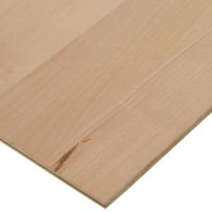 1/2 in. x 2 ft. x 8 ft. PureBond Alder Plywood Project Panel (Free Custom Cut Available)