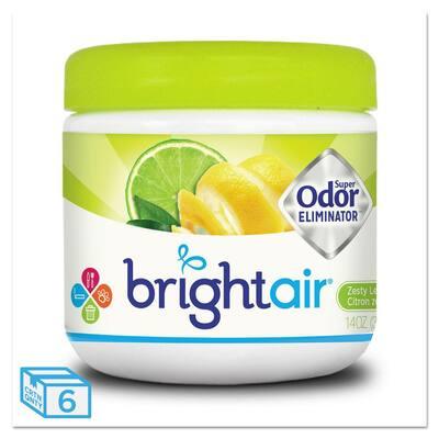 14 oz. Lime Super Odor Eliminator Automatic Air Freshener Dispenser, Zesty Lemon and Lime (6/Carton)