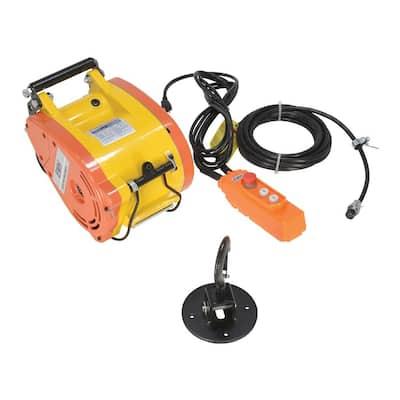 Electric Mini Hang Cable Hoist 1000 Capacity